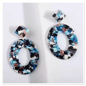 Beautiful Marble Earrings